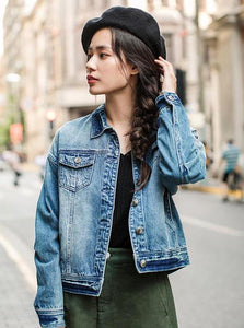 CASUAL JAPANESE DENIM JACKET - IMPAVIID