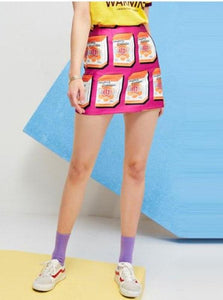HARAJUKU POP-ART MINI SKIRT