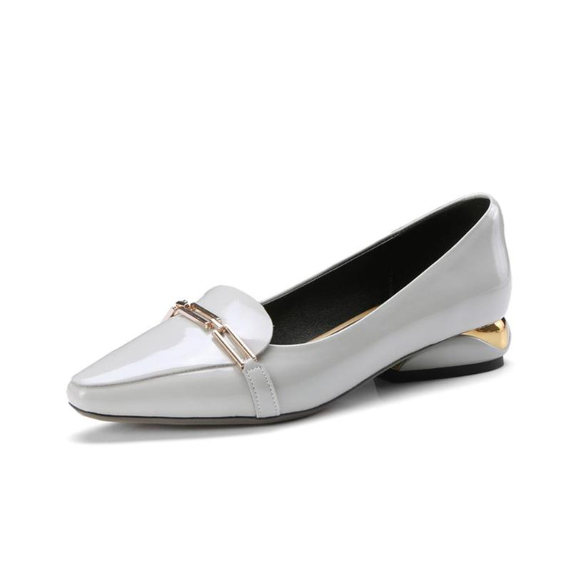 LOW HEEL CLASSIC LOAFERS
