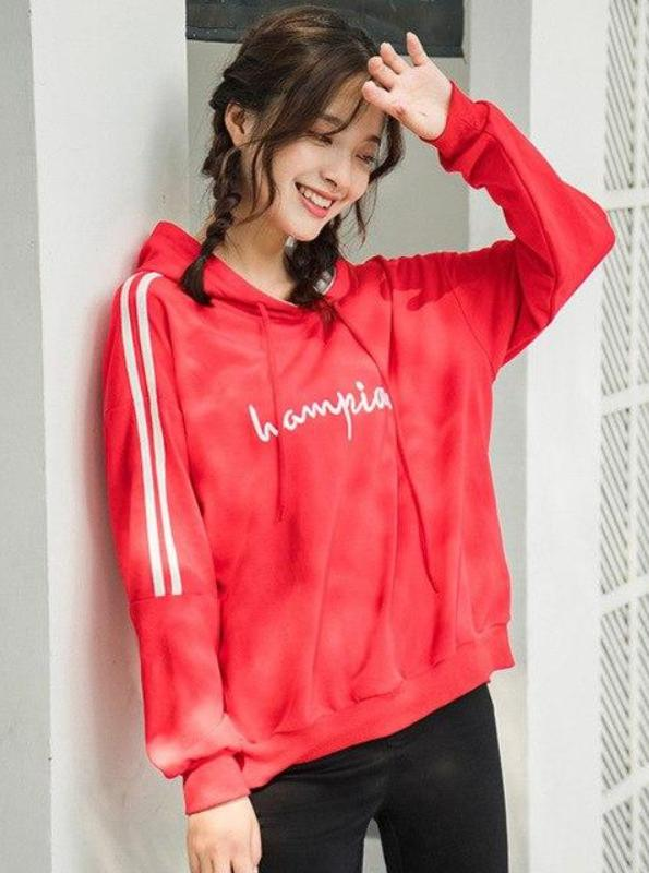 CASUAL SIDE STRIPES HOODIE - IMPAVIID
