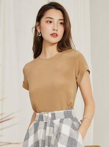 RULLES SLEEVES CASUAL TOP