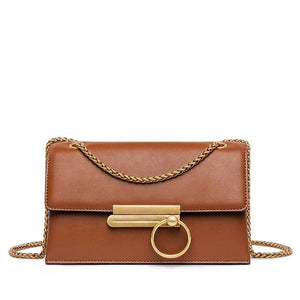 VINTAGE MAGNETIC BUCKLE CROSSBODY BAG