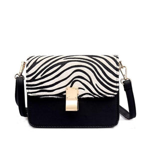 ANIMAL PRINT SMALL CROSSBODY BAG - IMPAVIID