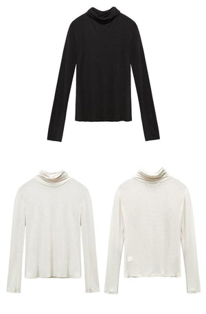 BASIC SLIM KUDUMISEL TURTLENECK - IMPAVIID