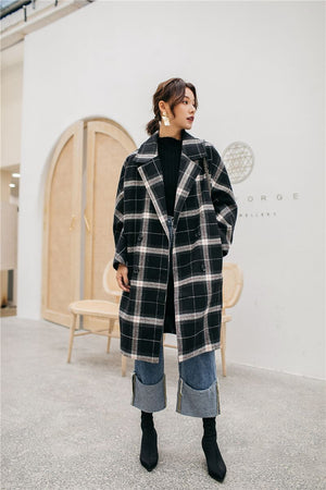 0250bb864db OVERSIZED TWEED COAT – impaviid