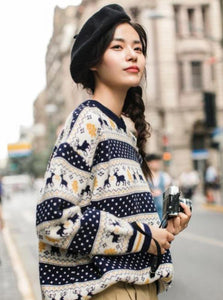 RETRO WINTER SWEATER