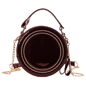 VINTAGE SMALL ROUND BAG