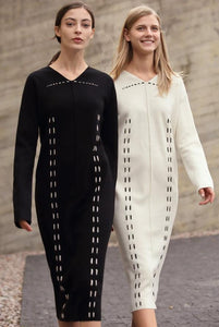 MAXI KNITTED SWEATER DRESS