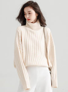 CHUNKLY STRIPED TURTLENECK - IMPAVIID