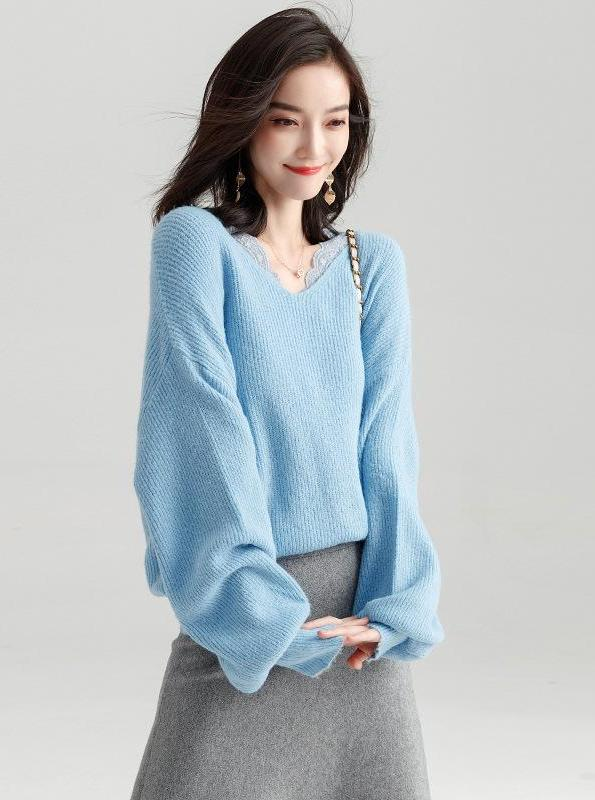 THIN OVERSIZED SWEATER