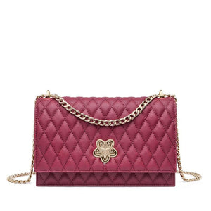DIAMOND LATTICE SMALL CROSSBODY BAG