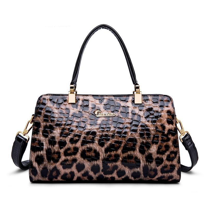 LEOPARD PRINT PILLOW RANDBAG