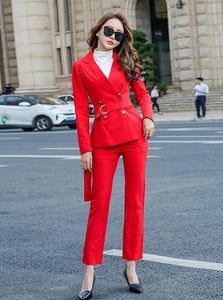 K-FASHION RED SUIT