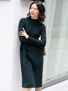KNITTED BUSINESS DRESS