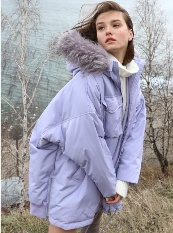 CRUELTY-FREE DOWN SPRING JACKET