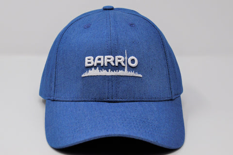 Barrio Cap - Black on Black Snapback