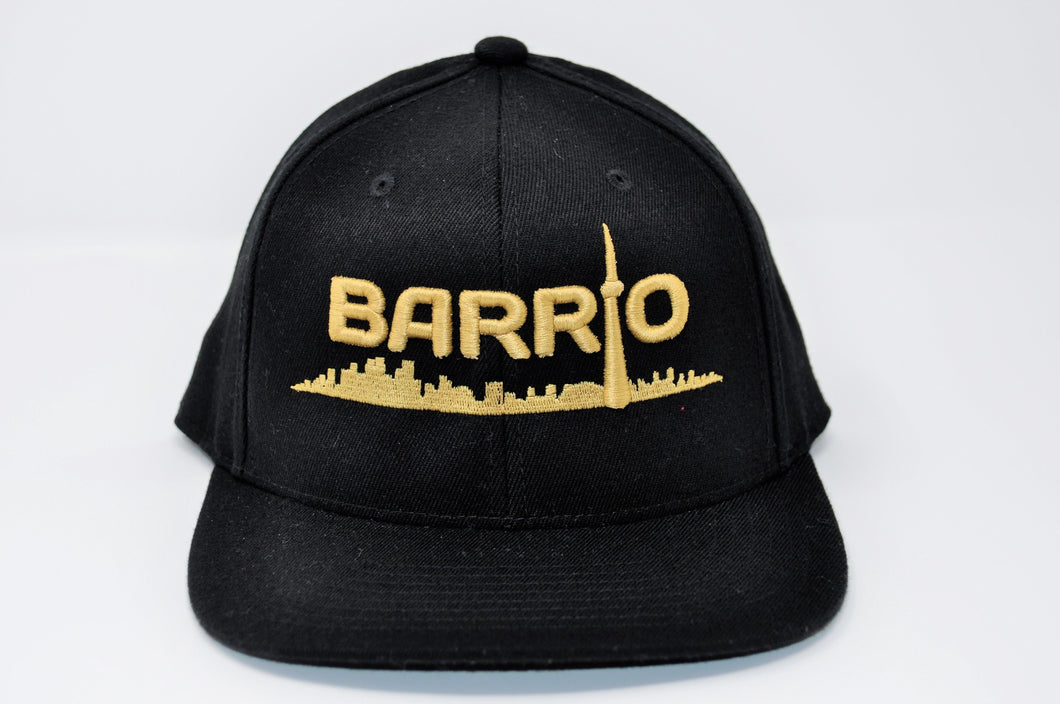 Barrio Cap - Gold on Black - Toronto Latinos