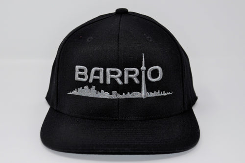 Barrio Cap - Grey on Black - Toronto Latinos