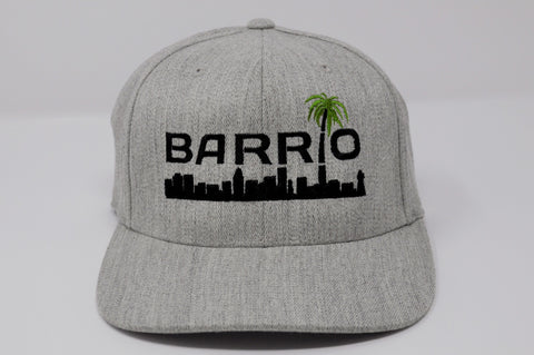 Barrio Cap - Miami Edition Grey Snapback