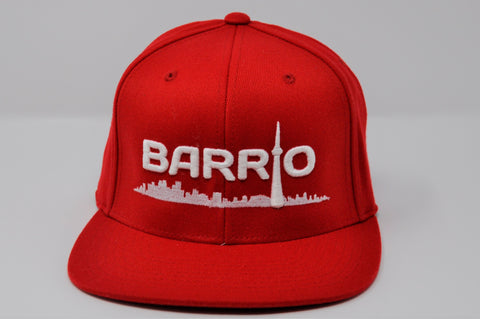 Barrio Cap - Red Snapback