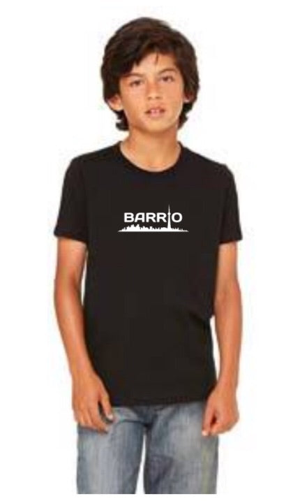 Tee - Barrio Youth Black - Toronto Latinos