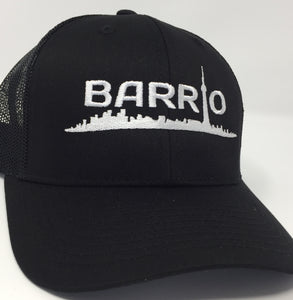 Barrio Trucker Cap - Black - Toronto Latinos