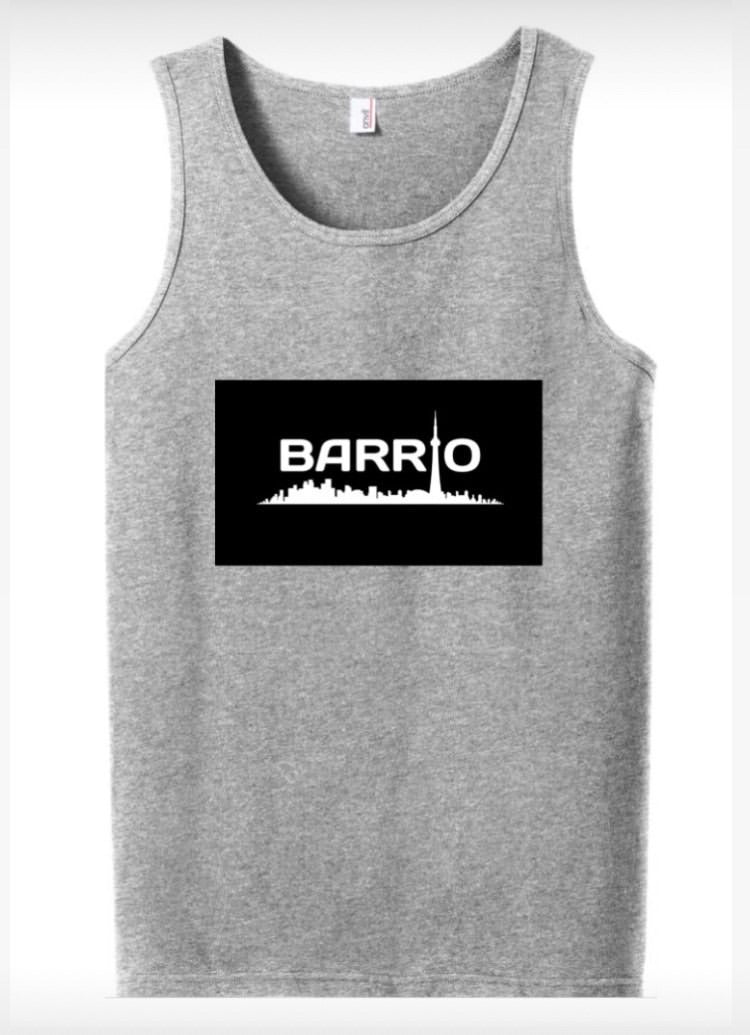 Tank Top - Barrio Men's Tank Grey - Toronto Latinos