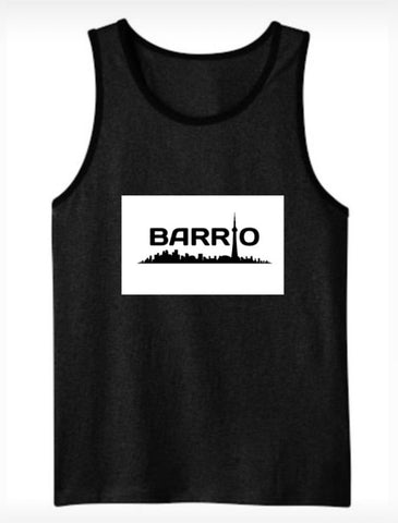 Tank Top - Barrio Women's Tank Grey