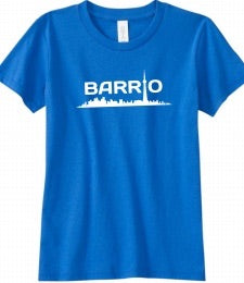 Tee - Barrio Youth Blue