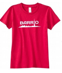 Barrio Youth T - Red - Toronto Latinos