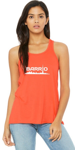 Tank Top - Barrio Women's Tank Coral