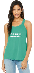 Tank Top - Barrio Women's Tank Mint - Toronto Latinos
