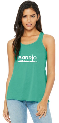 Tank Top - Barrio Women's Tank Mint