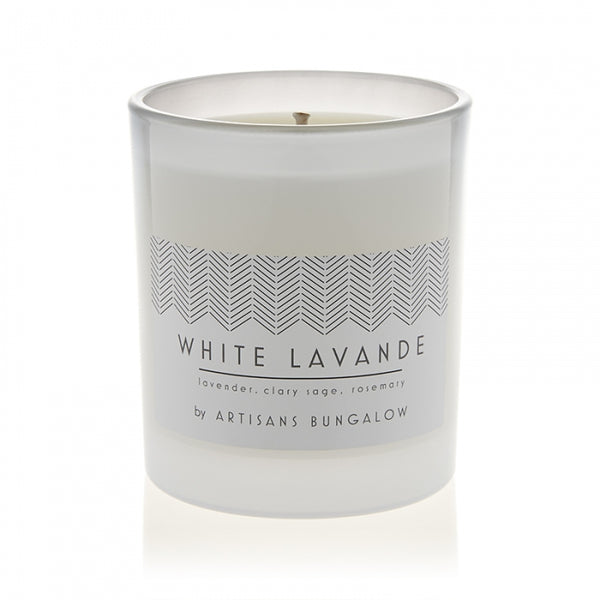 Scented Candle - White Lavande