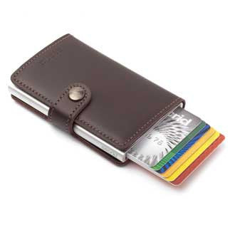 Secrid Miniwallet - Brown