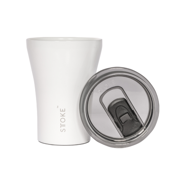 Sttoke Coffee Cup - White