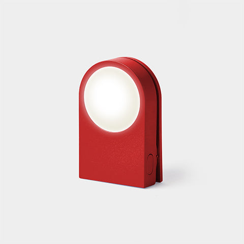 Lucie Light Clip - Red
