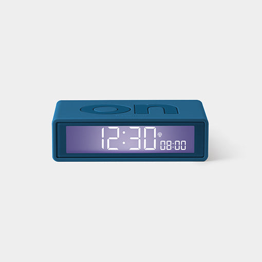Flip Clock - Dark Blue