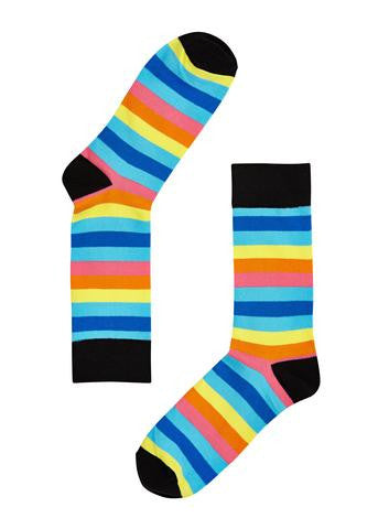 Socks (pair) - Multi Stripes