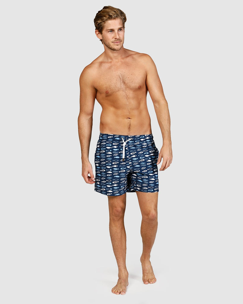 Swim Shorts - Fish