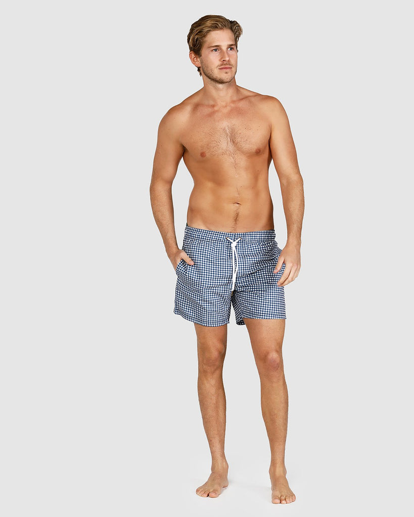 Swim Shorts - Gingham