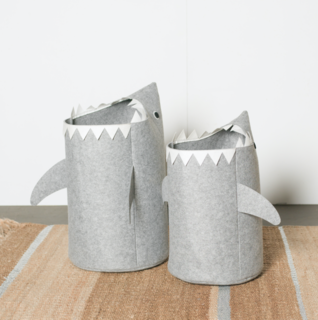 Sharkie Laundry Bins