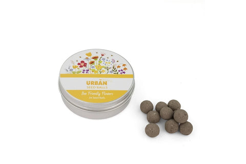 Tin of Seed Balls - Bee Friendly Flowers