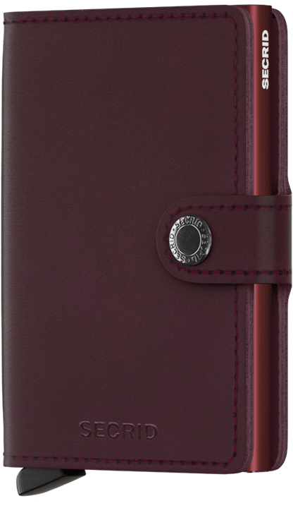 Secrid Miniwallet - Bordeaux