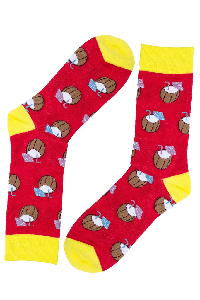 Socks (pair) - Coconut