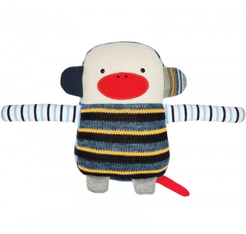 Cushion Monkey - Blue