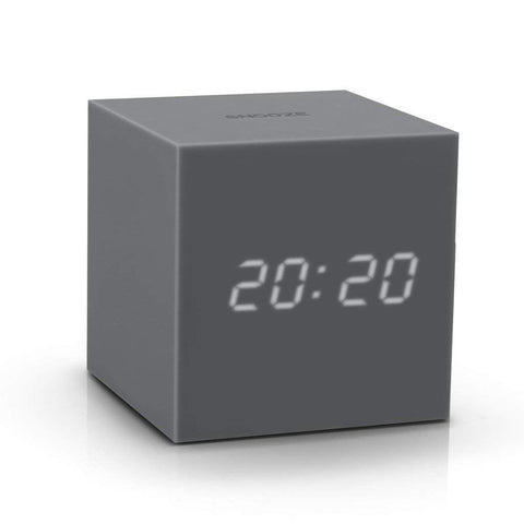 Gravity Click Clock - Grey