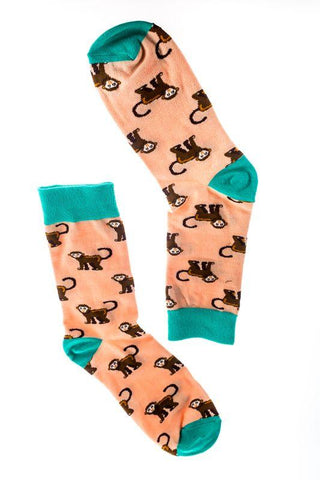 Socks (pair) - Monkeys