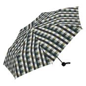 Umbrella - Medium Size - Green Checked