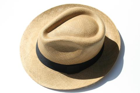 Panama Hat - Hass Style - Tobacco colour